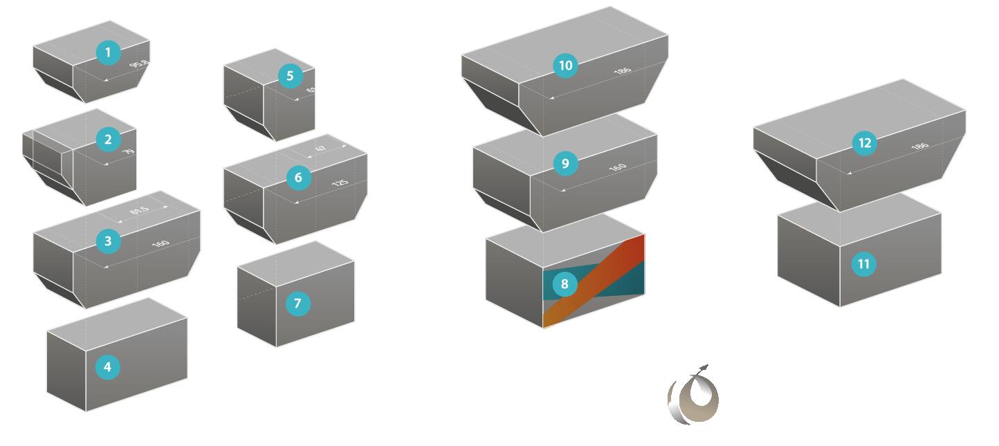 Средства пакетирования для нижней палубы