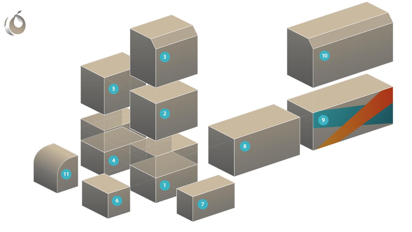 Средства пакетирования для главной палубы